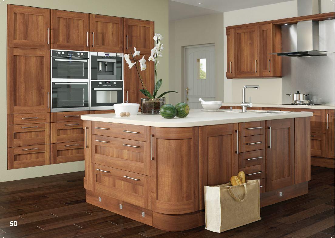 21+ Walnut shaker cabinets model