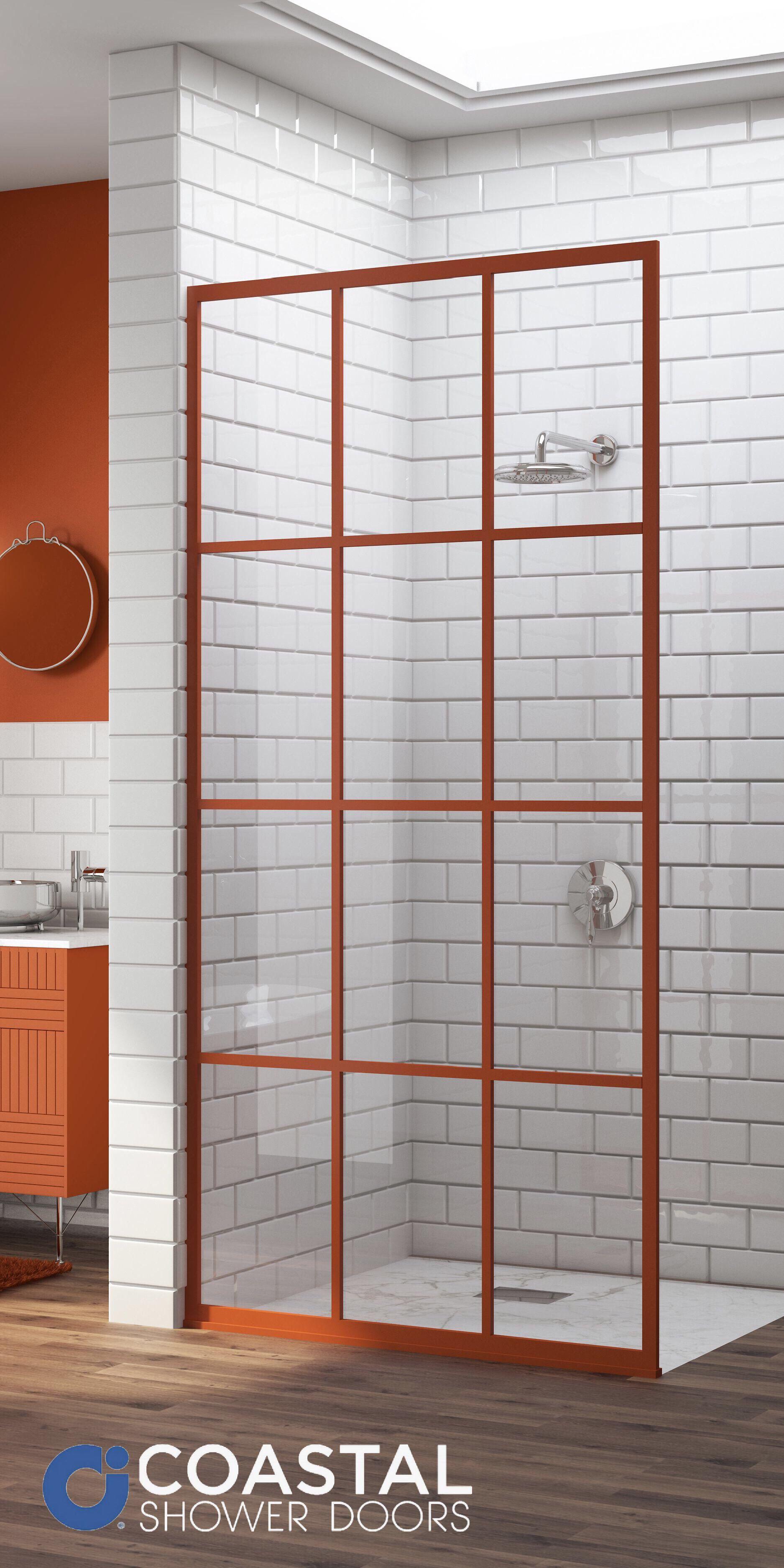 Gridscape Series Coastal Shower Doors Shower Doors Bathroom