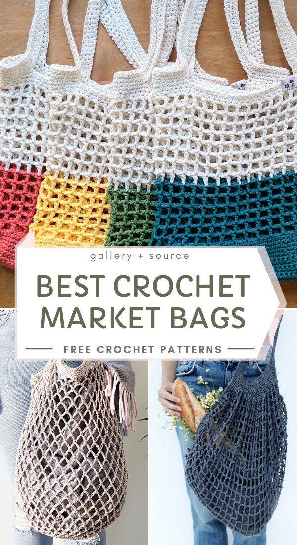 The Best Crochet Market Bags