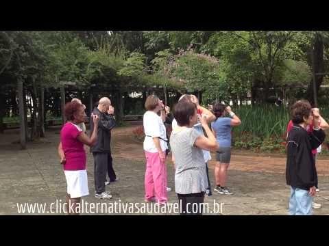 Terapia Natural da Visão - Exercícios no Parque do Ibirapuera