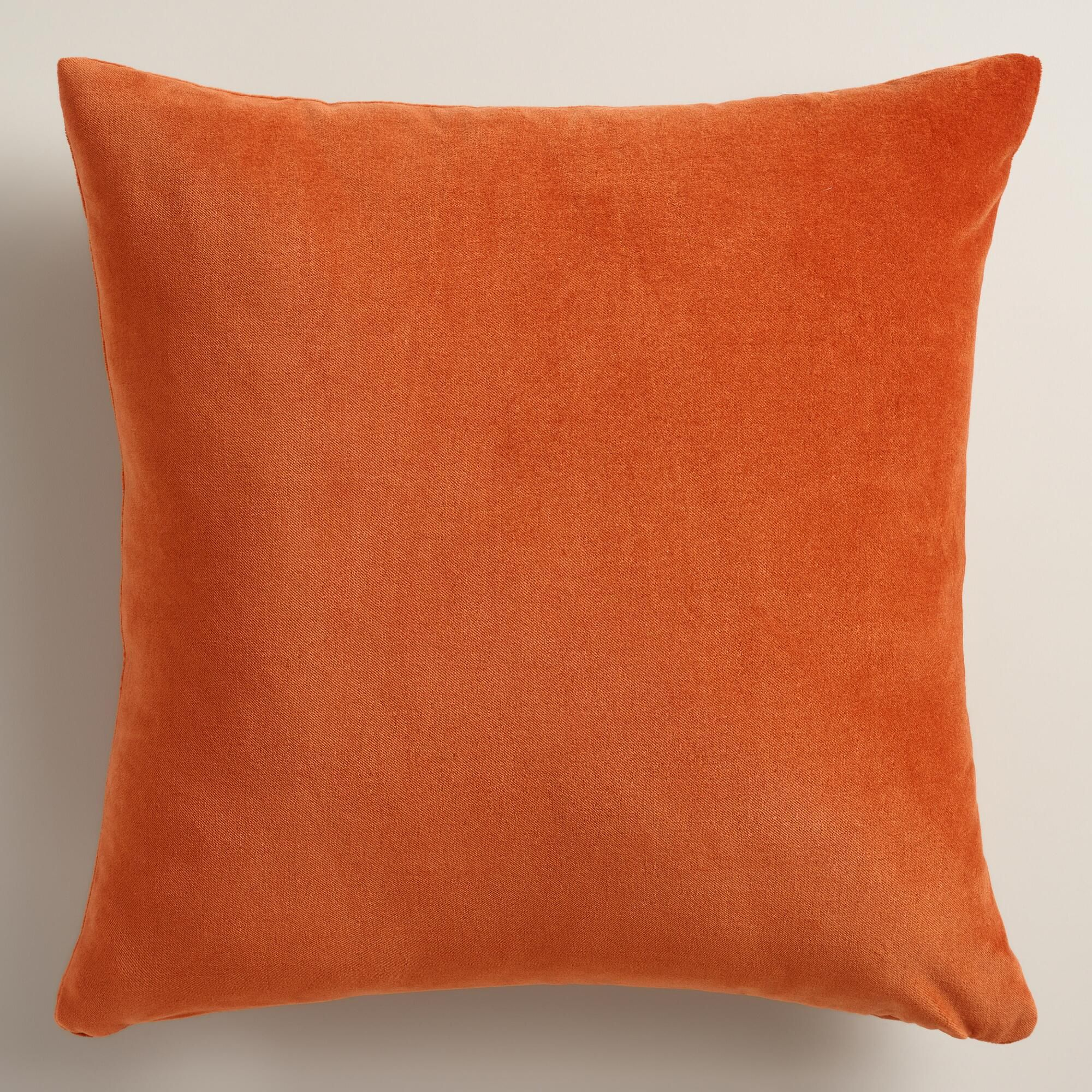 cozy pillow couch with design room sofa orange throw decorative living pretty pillows for