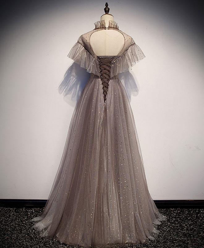 Einzigartiges langes Ballkleid aus Tüll, Abendkleid aus Tüll   – Dress