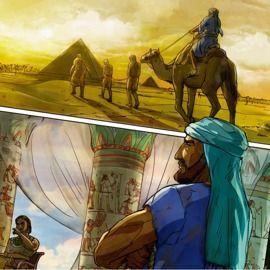 Teach children Christian values (free Bible study printables) Joseph in the Land of Egypt