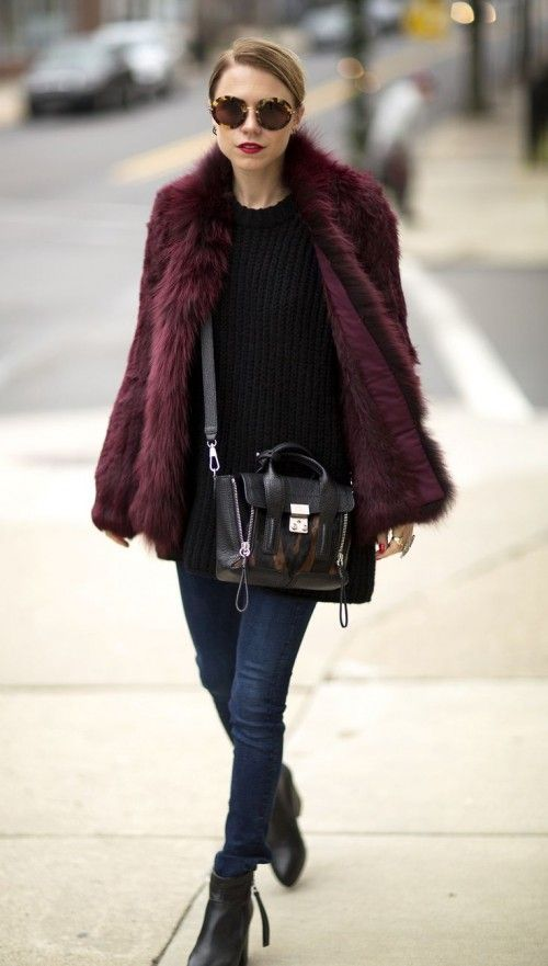 15 Chic And Warm Winter Coats With Faux Fur Styleoholic