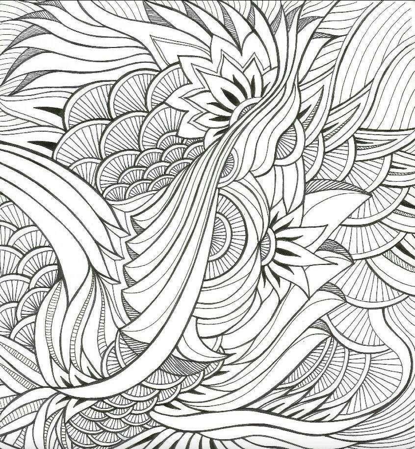 Раскраска антистресс - картинки! УЗОРЫ, цветы, орнаменты ...