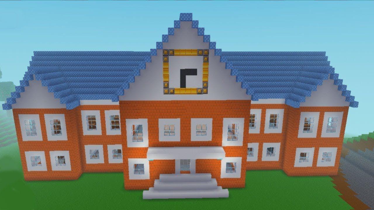 Block Craft 3d Mobile Gameplay School