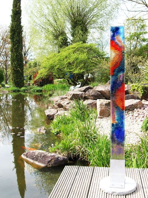 Glasdesign für den Garten Glass art Pinterest Mini pool - schwimmingpool fur den garten