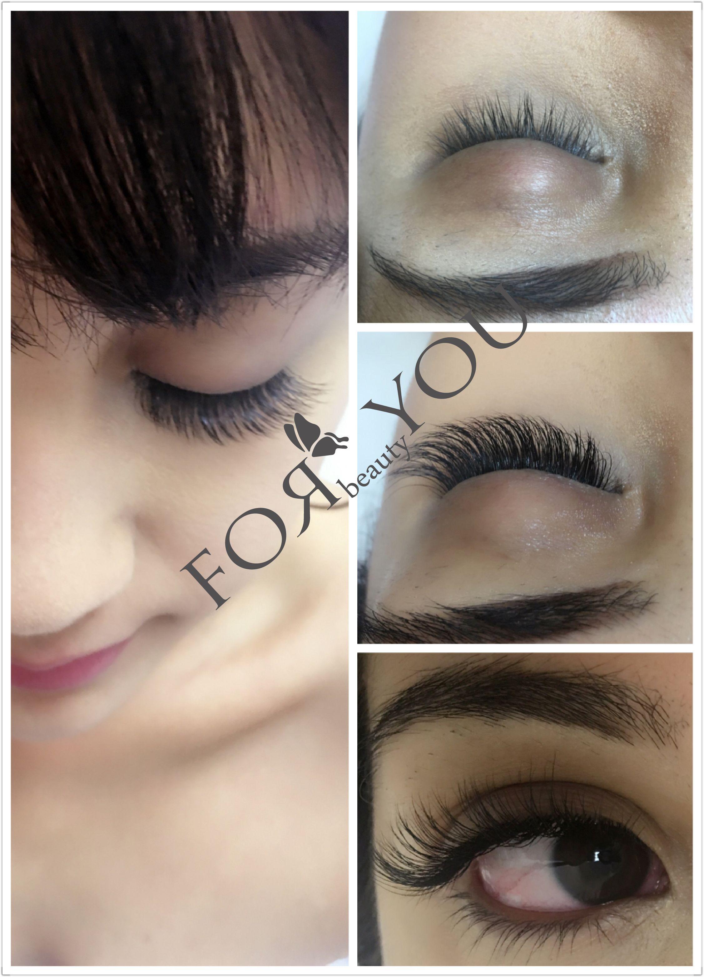 Real Mink D Curl Natural | Eyelash Extension | Eyelash