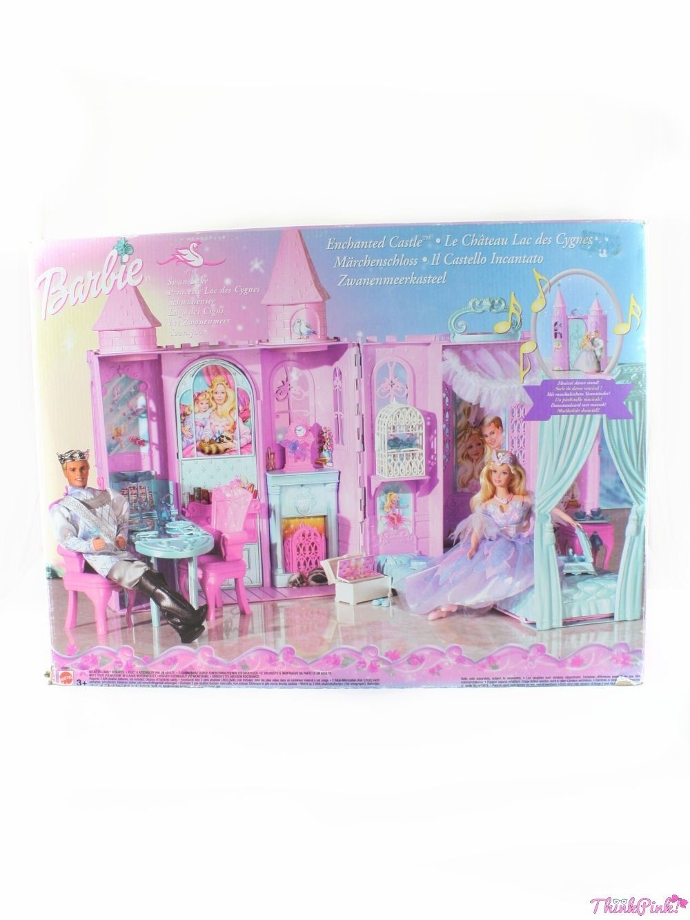 Swan Lake Miniature Dollhouse Doll House Picture