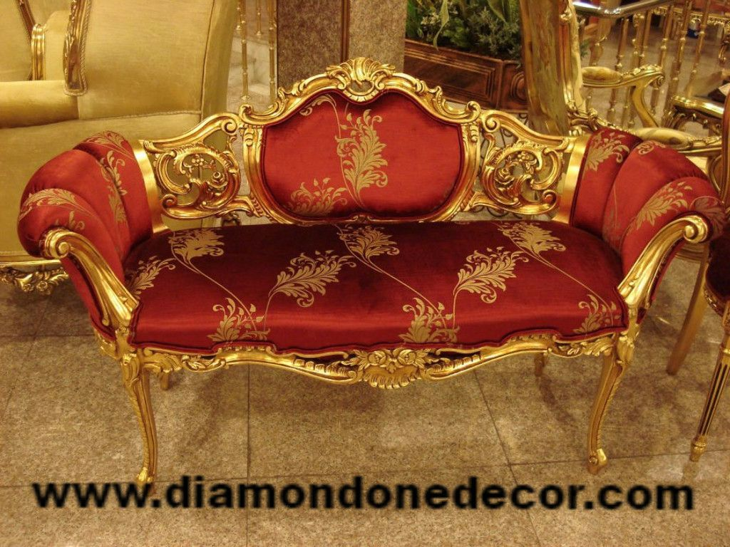 Celine fabulous baroque french reproduction louis xv for Rococo furniture reproductions