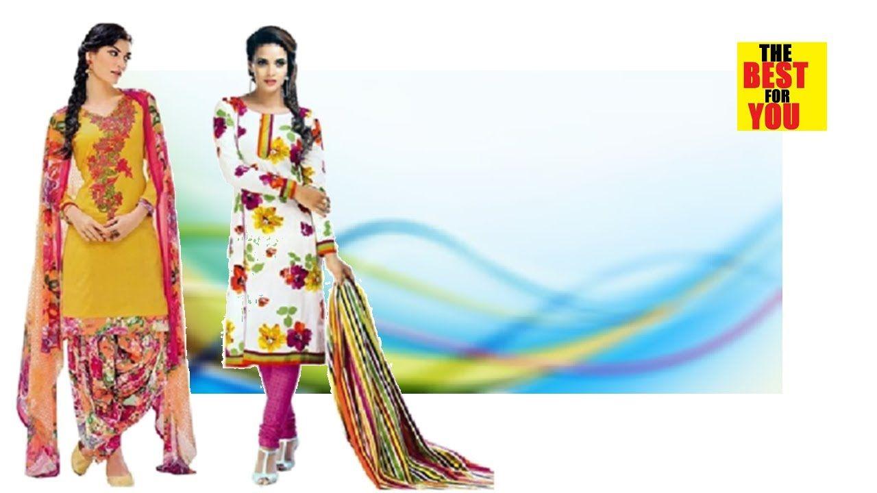 top Online Shopping Indian Dresses for Women Salwar Kameez Suits ...