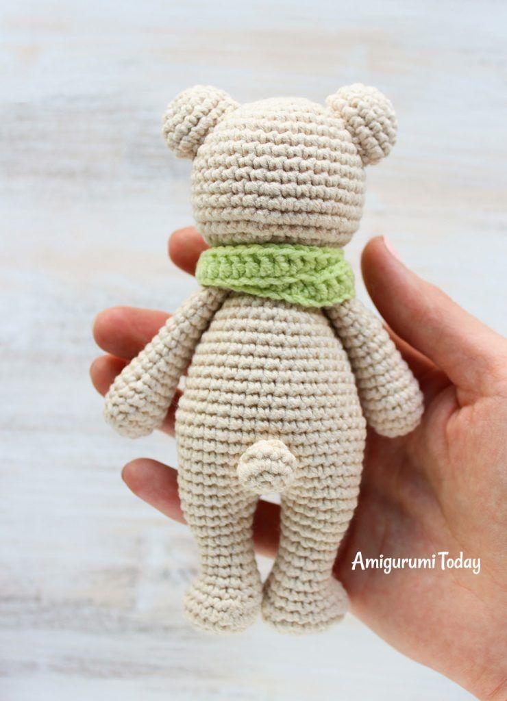 Patrón de crochet oso-crochet-ganchillo amigurumi | patrones gratis ...