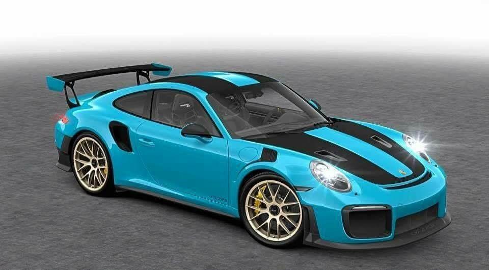 Delightful Miami Blue 991 GT2 RS · Porsche 911 ...
