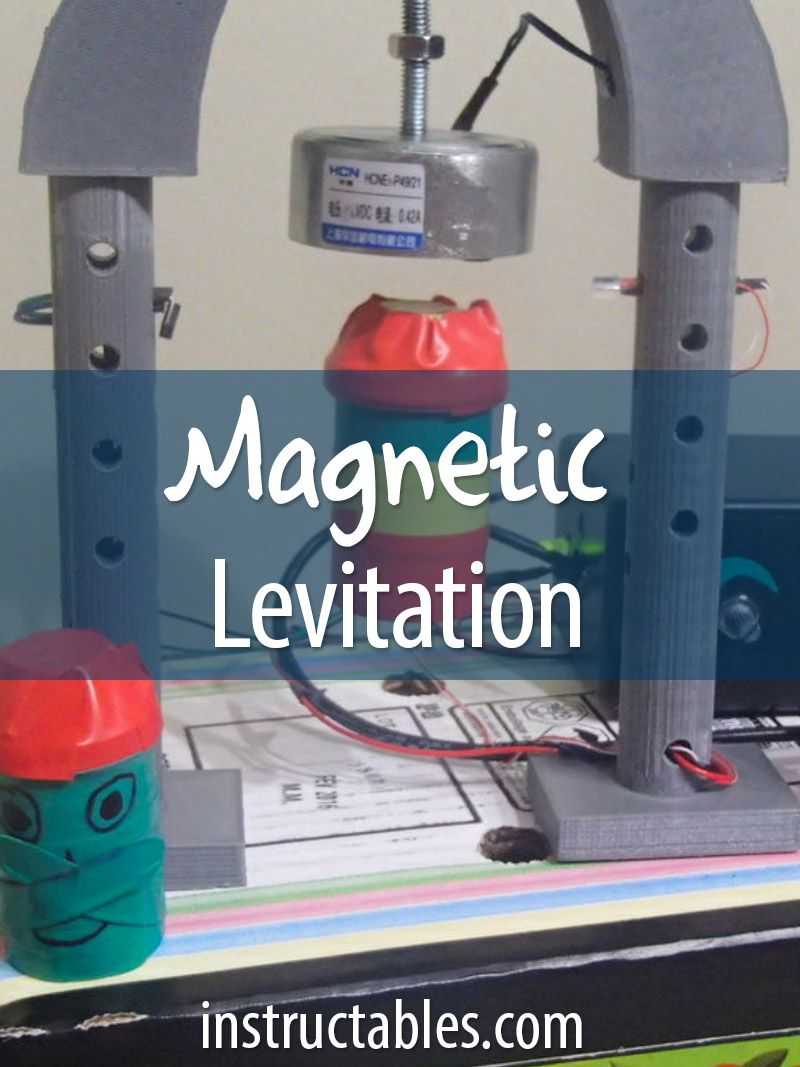 Magnetic Levitation | Workshop Projects | Magnetic