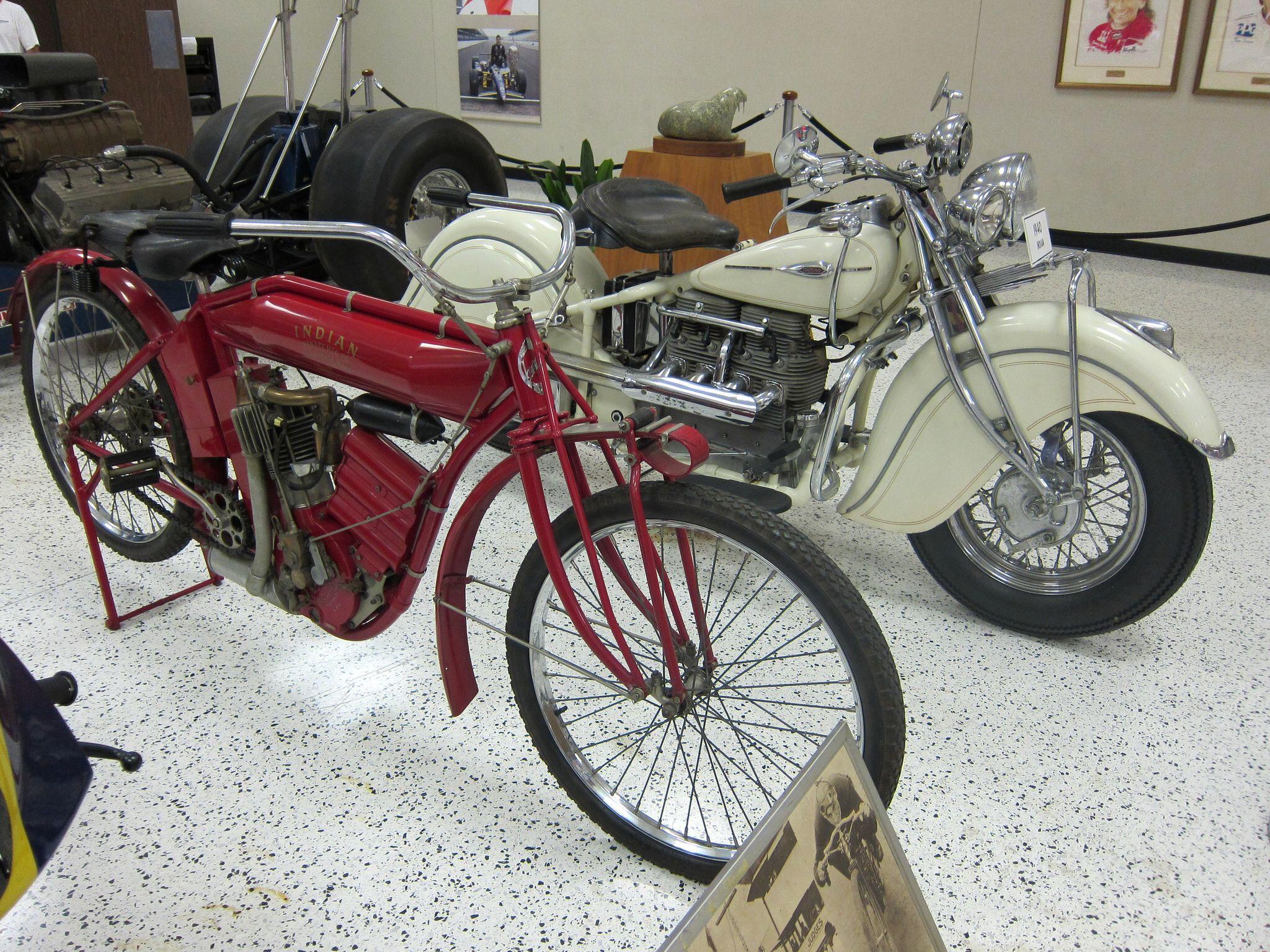 Motorbikes at Indianapolis Motor Speedway Museum | Open wheel racing ...