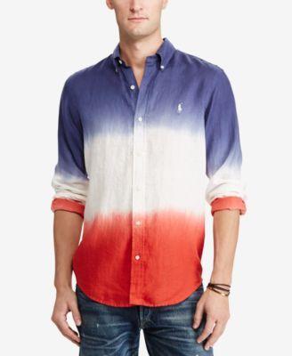 POLO RALPH LAUREN Polo Ralph Lauren Men'S Standard Fit Linen Shirt ...