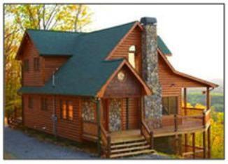 Beau Blue Ridge Mountain Cabin Rentals   The Beautiful Blue Ridge Mountains  Cover A Wide Area Extending