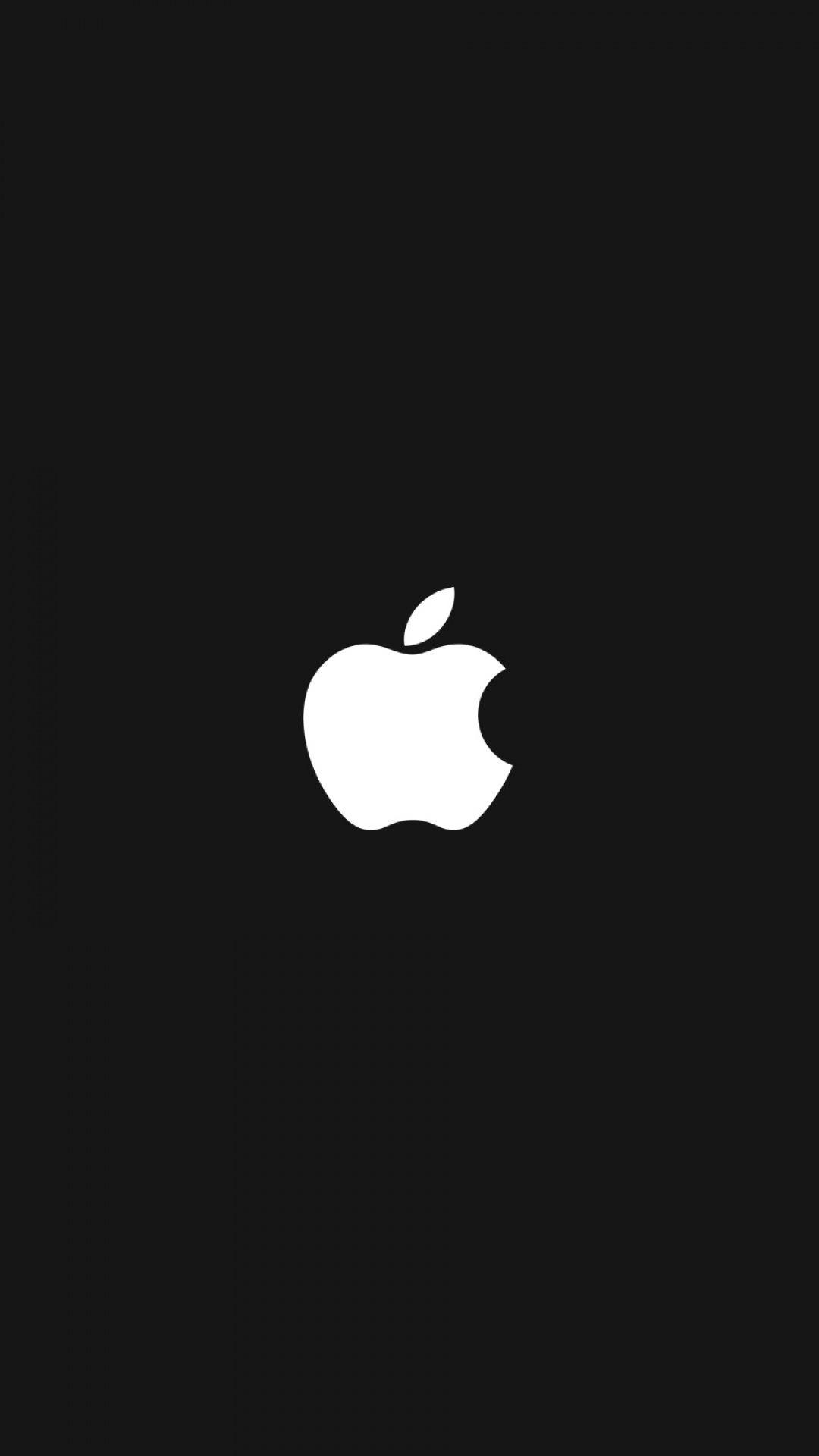 Wallpaper iphone apple logo - B W Quenalbertini Apple Logo Iphone Wallpaper