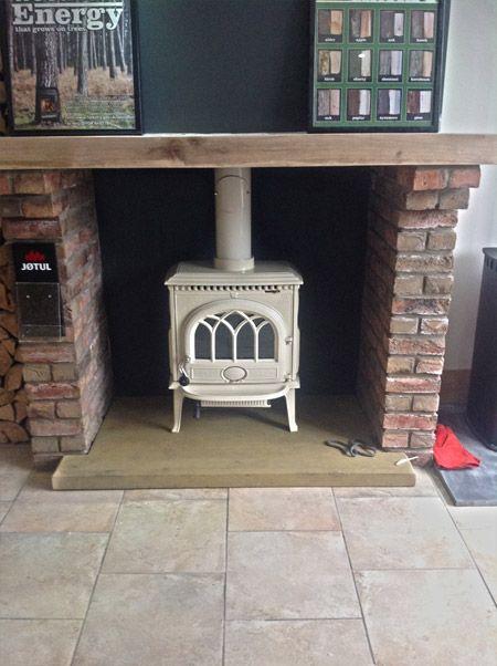 Jotul stove at the newly opened stove showroom