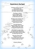 Footprints In The Sand Poem Printable Version Footprints In The