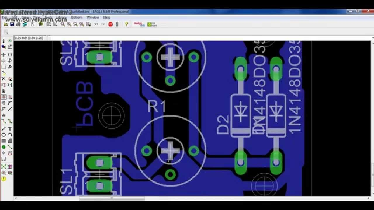 How To Design Pcb Layout Using Eagle Cadsoft Electronics Figure 2 Schematic View In Software Diagrams And From This Is A Quick Overview On Printed Circuit