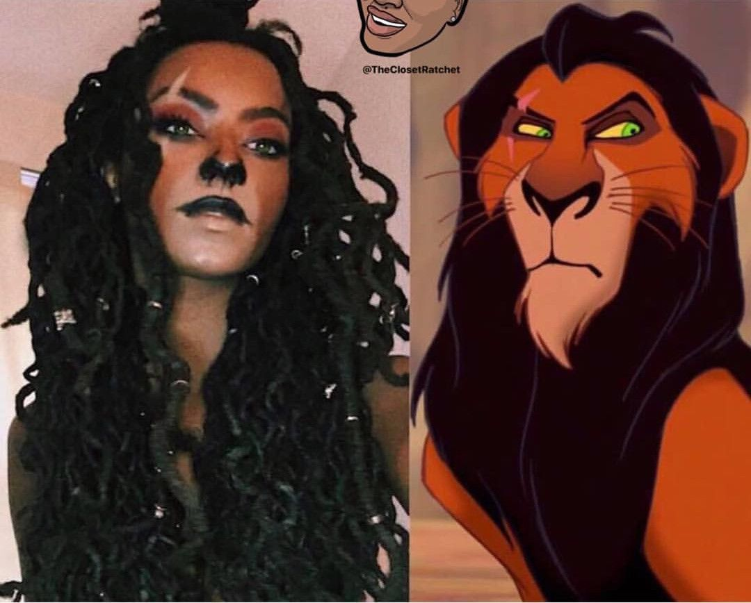 Lion King Halloween Party 2020 Scar from lion king   Black girl halloween costume, Halloween girl
