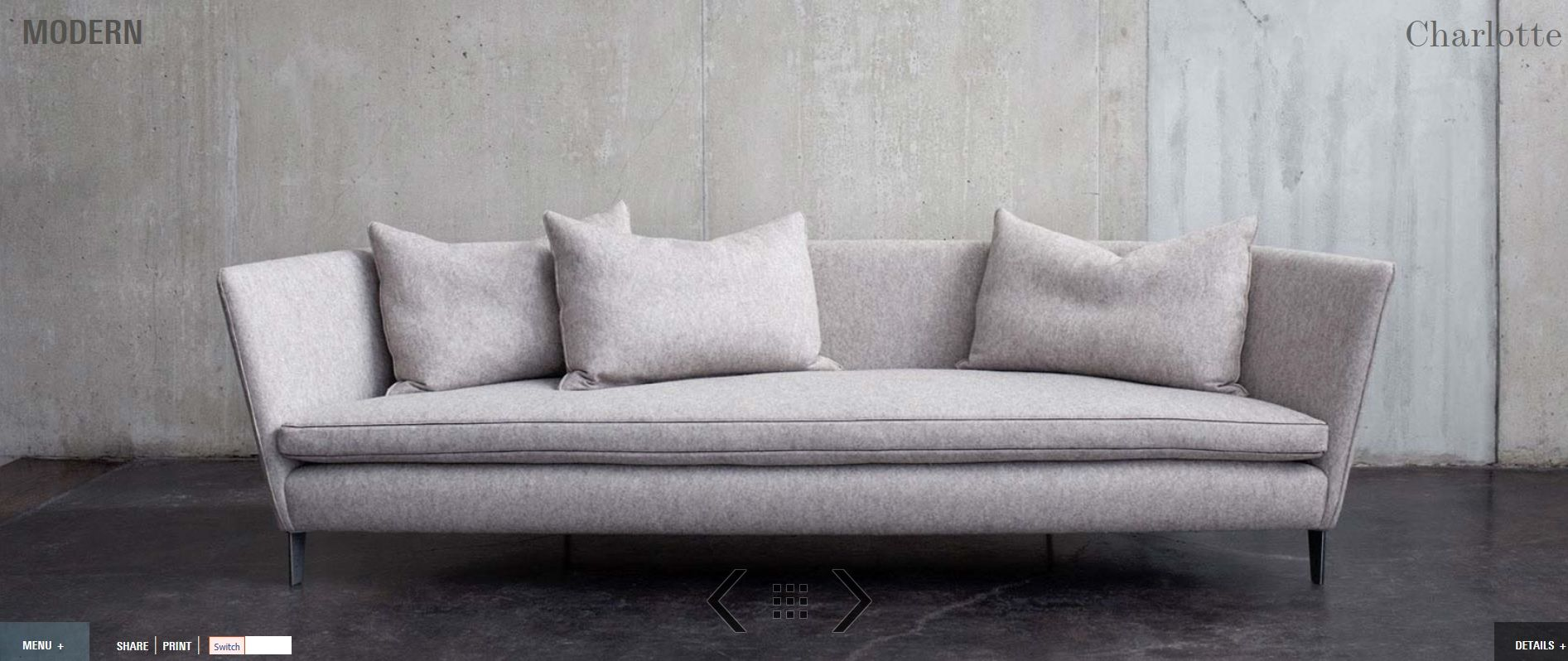 Captivating Montauk Sofa Charlotte