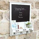 Farmhouse Blackboard With Hooks