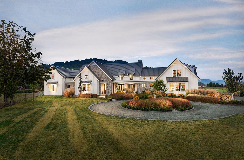 Alair homes custom adams road modern farmhouse 4300