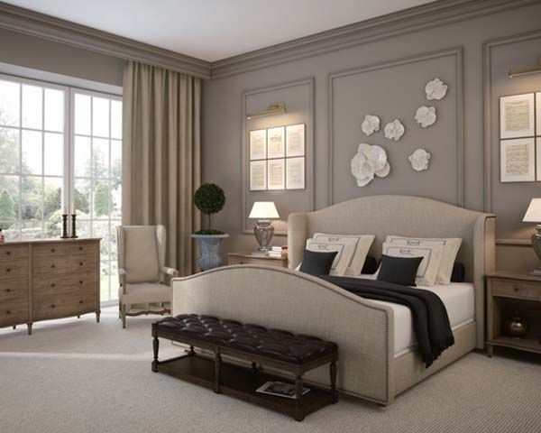 Both Simple And Luxurious Applications In French Bedroom
