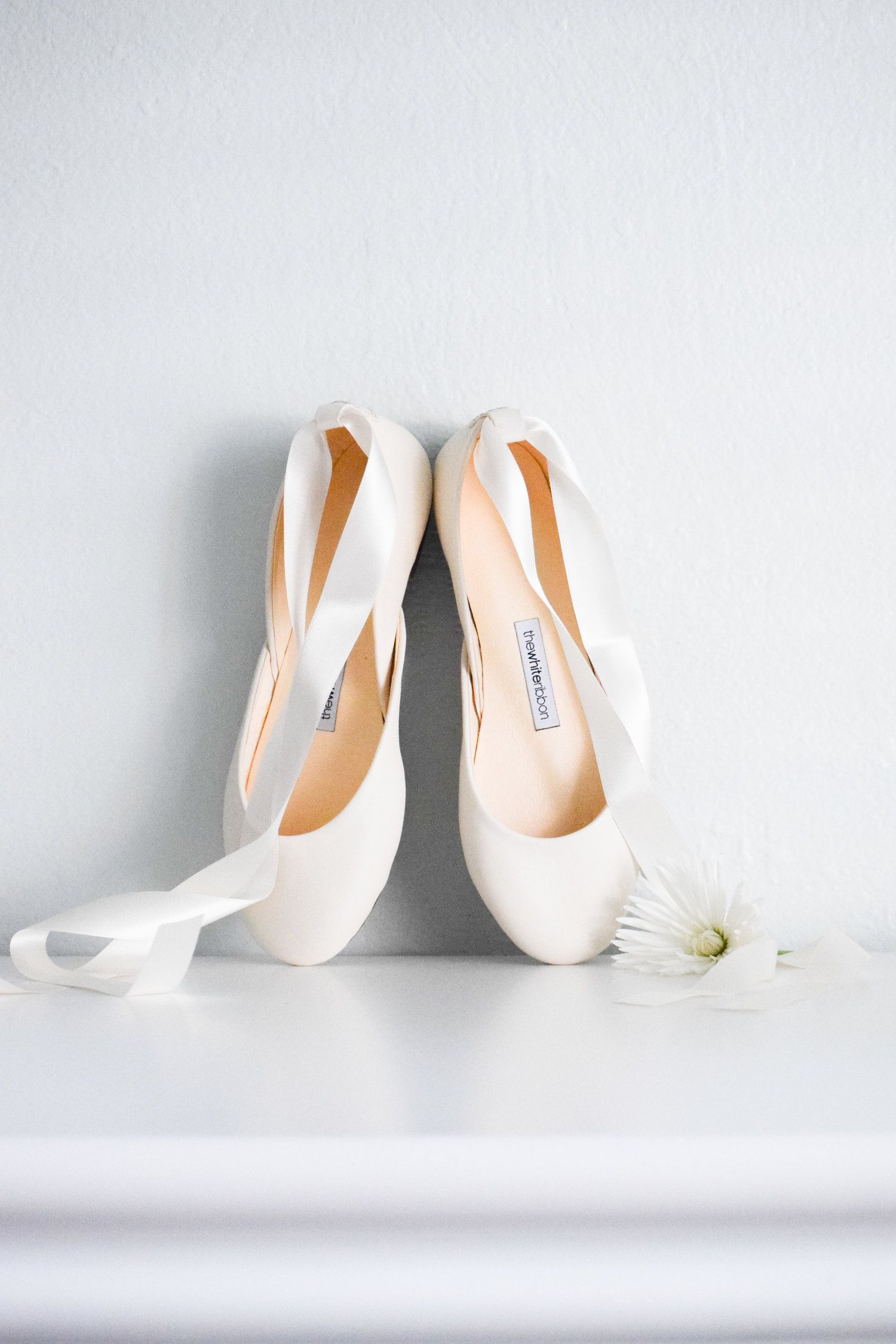 The Bridal Boutique Bridal Ballet Flats By The White Ribbon The Overwhelmed Bride Wedding Blog Socal Wedding Planner Bridal Ballet Flats Bride Shoes Flats Bride Shoes
