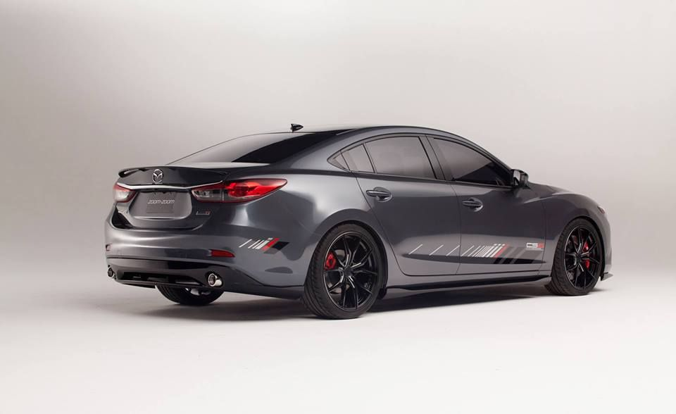 The Mazda6 Club Sport Concept Comes With Exclusive Graphics And A Composite Grey Finish Would You Pick One Up Learn More About The Mazda Cars Mazda Mazda 6