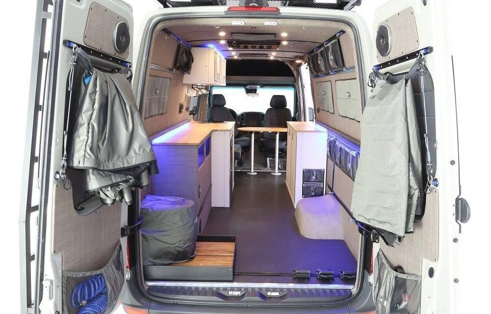 RB Gear Hauler Van DB 170 Custom sliding doors, Fabric