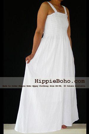 No012 Size Xs 5x Hippie Boho Clothing Gypsy White Plus Size Strap