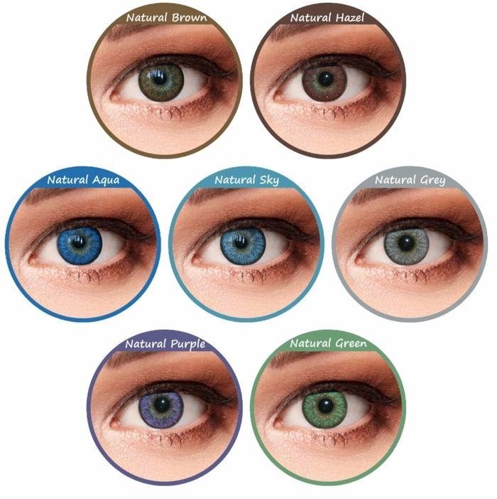 1001 ideen f r augenfarbe bedeutung charakteristiken kontaktlinsen augenfarbe und blau grau. Black Bedroom Furniture Sets. Home Design Ideas
