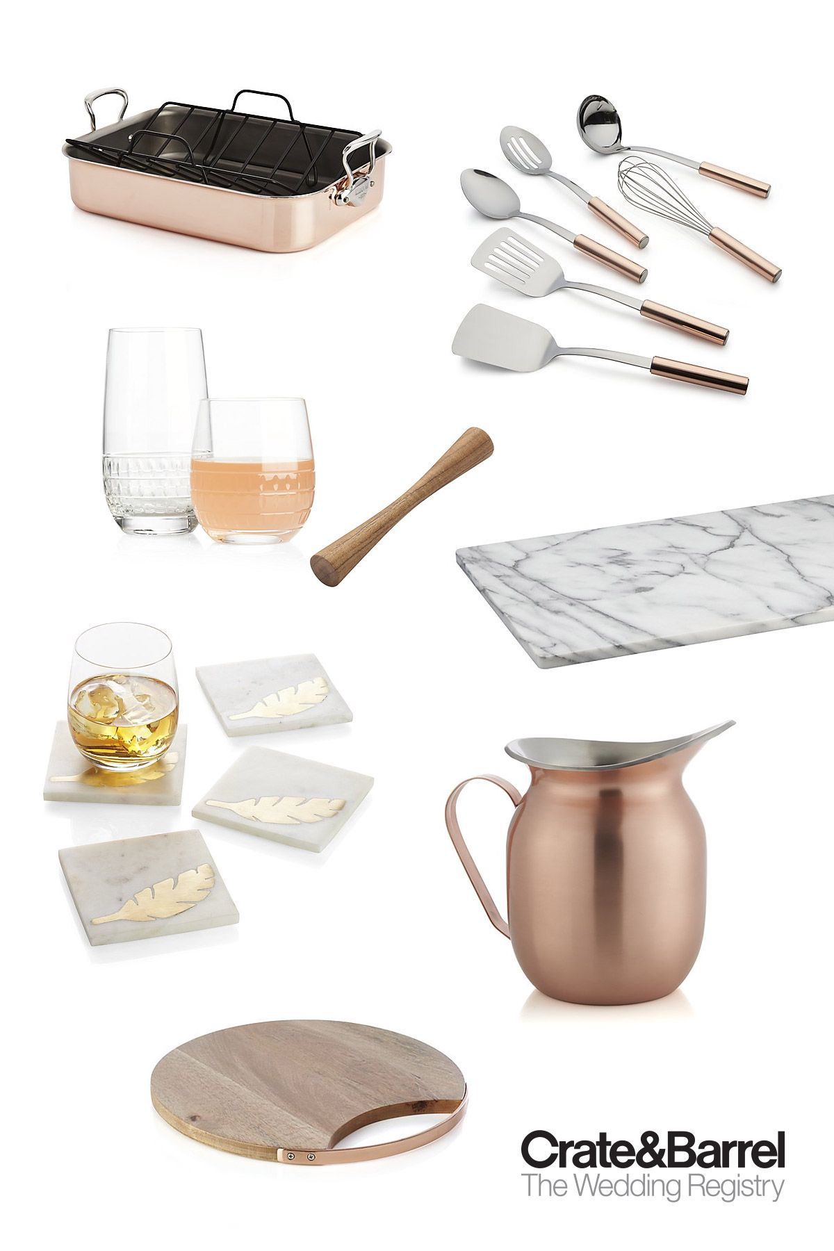 Crate and Barrel The Wedding Registry — Bridal Gift