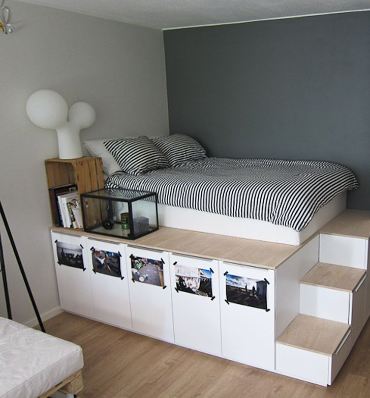 23 Decorating Tricks For Your Bedroom Cupboard Design For Bedroomikea Shelves Be Small Bedroom Ideas For Couples Small Room Design Small Space Storage Bedroom