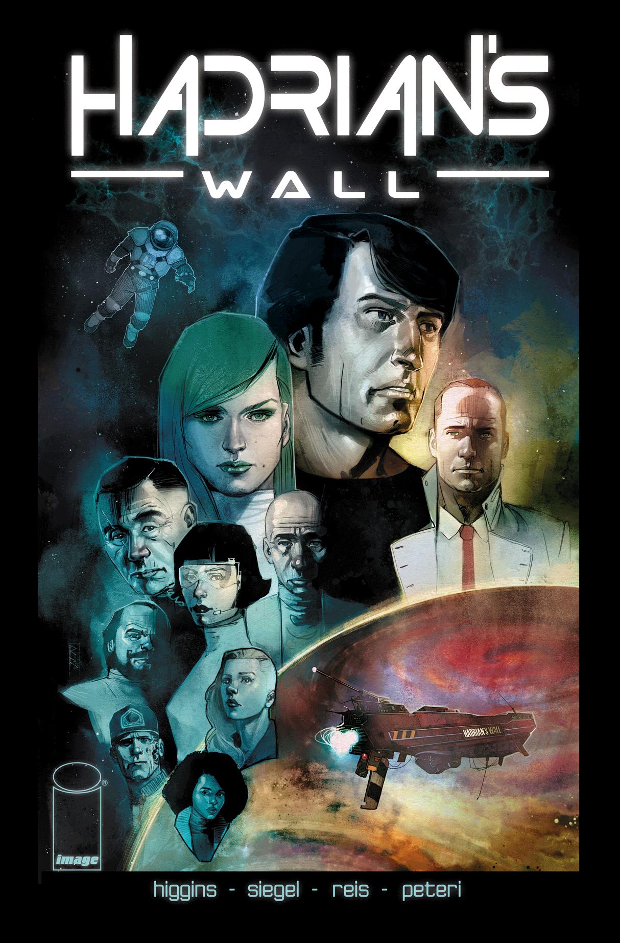 HADRIAN'S WALL TP  STORY: ALEC SIEGEL, KYLE HIGGINS  ART / COVER: ROD REIS - W,B,