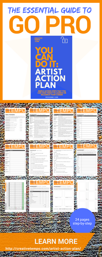The Essential Guide To Go Pro  Artist Action Plan Simple Action