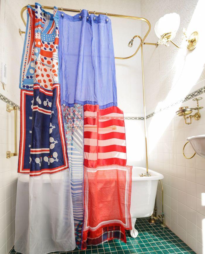 Yankee Doodle Dandee Junie B Love Shabby Chic Panel Curtains