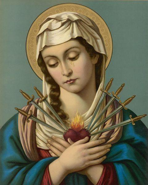 Sete Dores De Nossa Senhora Nossa Senhora Das Dores Imagens