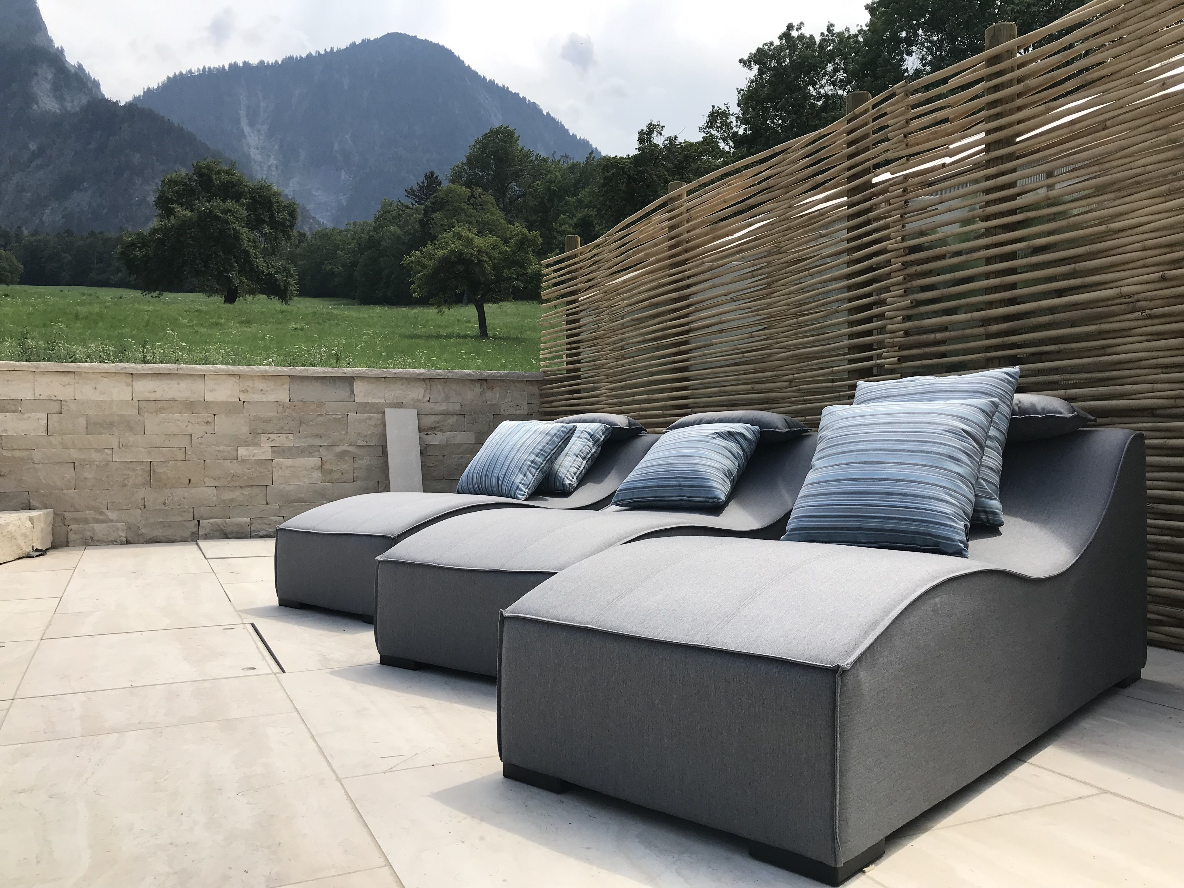 Liegestuhl Sun Grau Kaufen Viplounge Lounge Mobel Outdoor Lounge Liegestuhl
