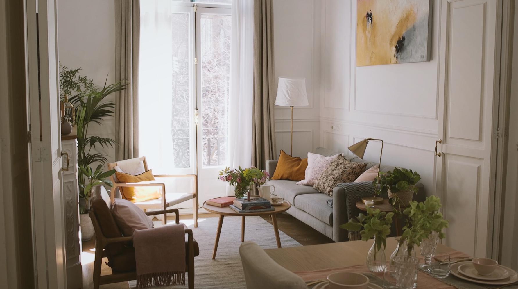 Un piso con mucho estilo (con vídeo)