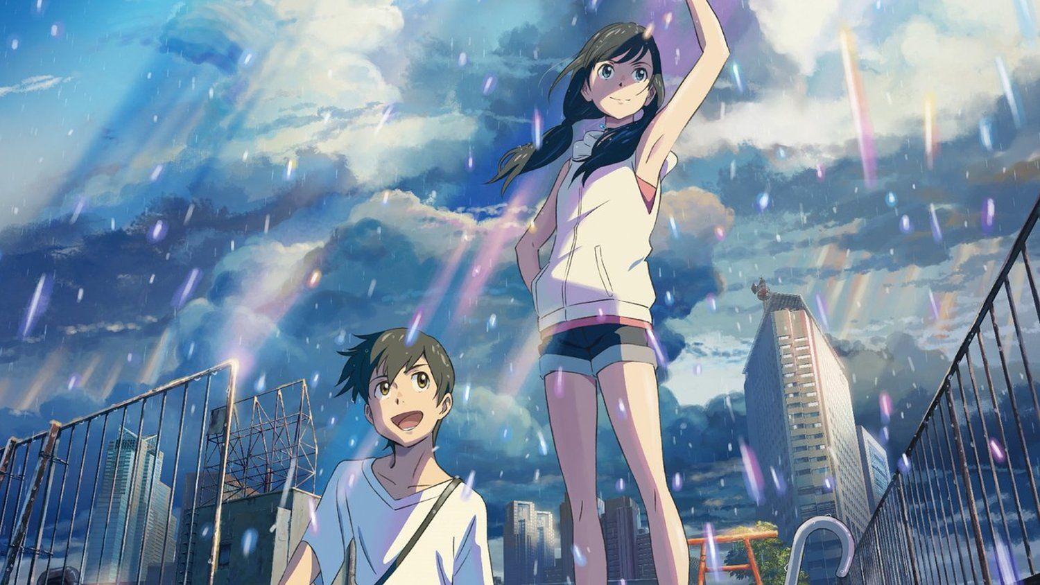 Full Trailer Released For The Anime Film WEATHERING WITH