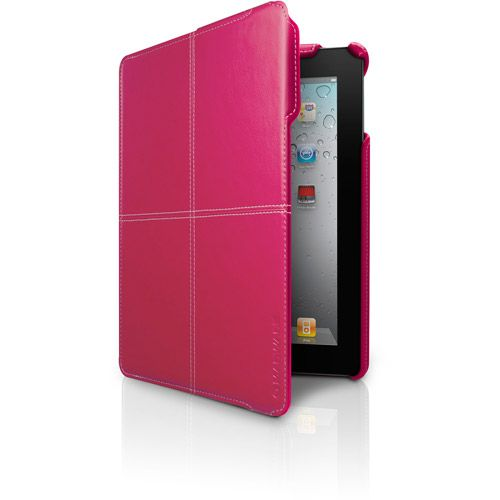 Pink iPad cover. Got the pink cover for my kindle that looks just like this.