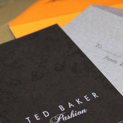 Ted Baker Thank you cards #packaging