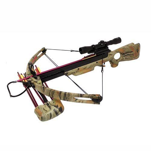 You could definitely mount our weekly giveaway prize on this monster crossbow! Head to our Facebook fan page for your chance to win!