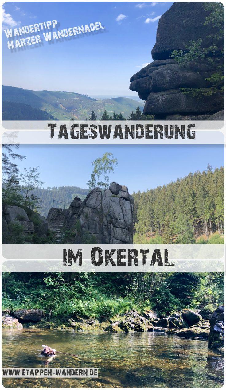 Wandern im Harz: Harzer-Wandernadel Klippen im Okertal