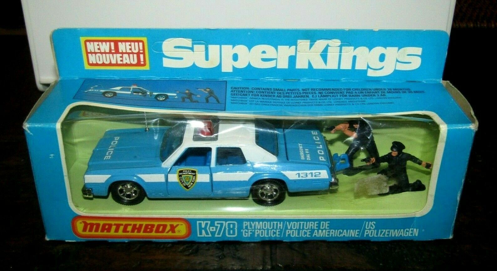 MATCHBOX  K 78  POLICE     SUPER KINGS   MADE IN ENGLAND