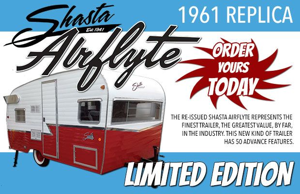 2015 Shasta Retro 1961 Airflyte Reissue RVs For Sale In Knoxville Tennessee